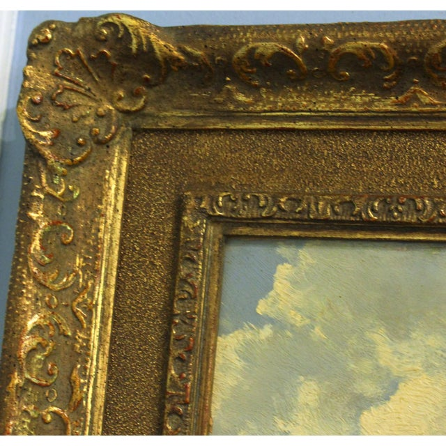 """Late 19th Century Antique Thomas Bigelow Craig """"Berkshire Meadows"""" Painting For Sale - Image 4 of 5"""