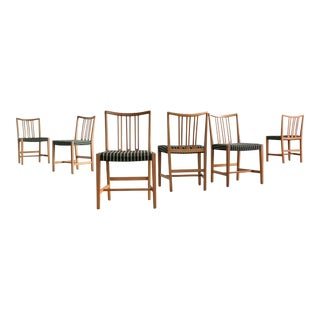 1942 Hans Wegner for Mikael Laursen Dining Chairs - Set of 6