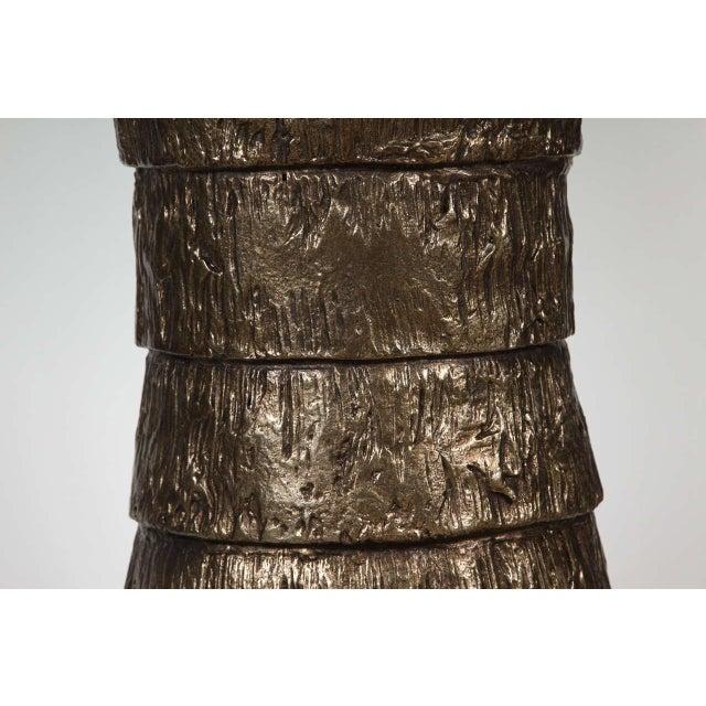 Sculptural Brutalist Pedestal Style Table For Sale In Los Angeles - Image 6 of 9