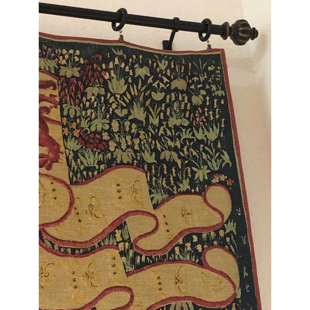 1960s French Style Tapestry For Sale In Tampa - Image 6 of 8