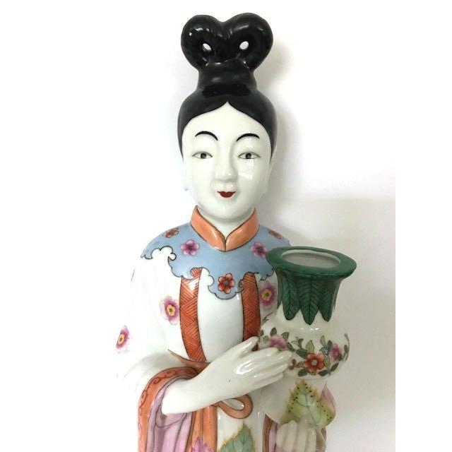 Gump's of San Francisco Vintage Oriental Candle Holder - Image 4 of 5