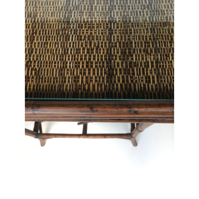 Bamboo Wine Rack & Tray Table For Sale - Image 5 of 6