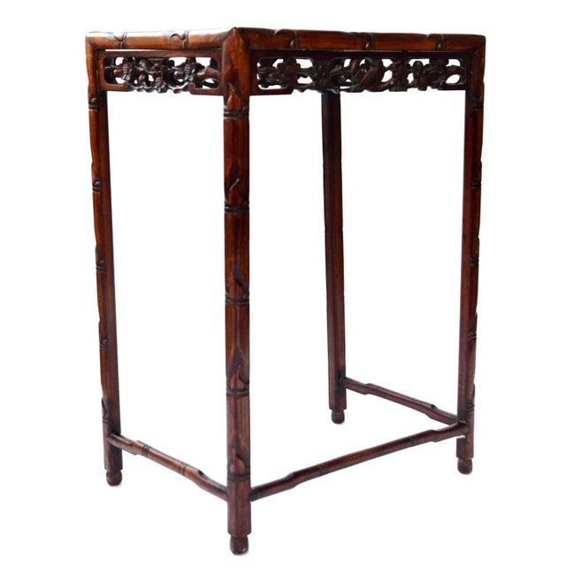 Late 19th Century Chinese Side Table Qing Dynasty 19th C For Sale - Image 5 of 10
