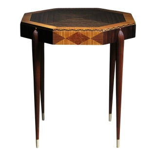 1920s Émile-Jacques Ruhlmann Attributed Side Table For Sale