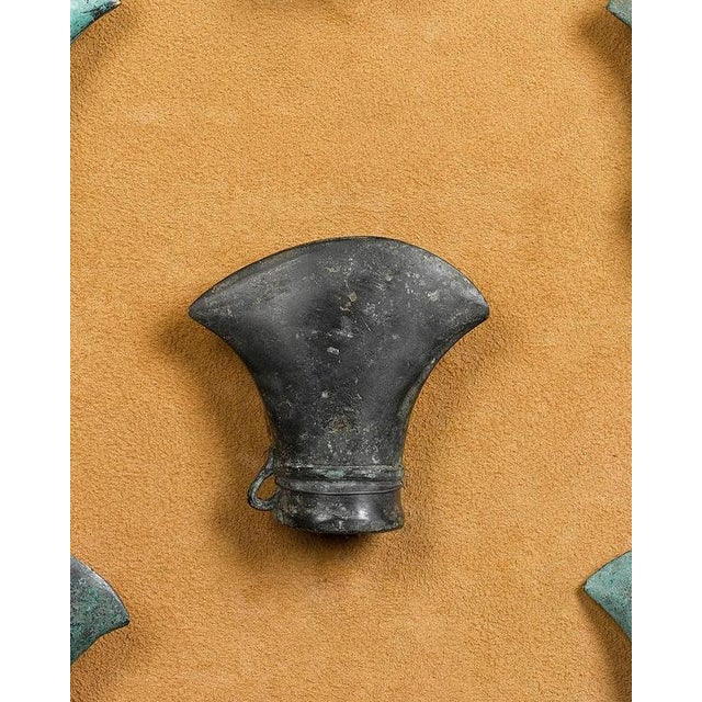 Primitive Ancient Celtic Bronze Axe Heads For Sale - Image 3 of 5