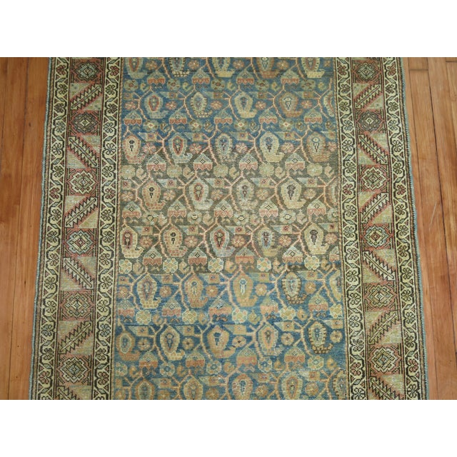 Antique Persian Malayer Runner, 3'4'' X 20'2'' For Sale In New York - Image 6 of 11