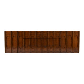 Mid-Century Modern-Style Two-Tone Credenza