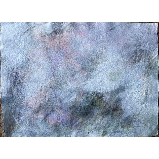 "1980s Patricia Zippin 1980s Abstract Mixed Media ""Ashland Ducks Ix"" For Sale - Image 5 of 5"