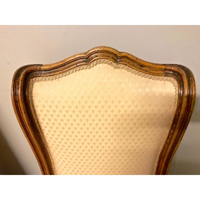 Louis XV-Stye Slipper Chairs or Chauffeuses - a Pair For Sale In Los Angeles - Image 6 of 8