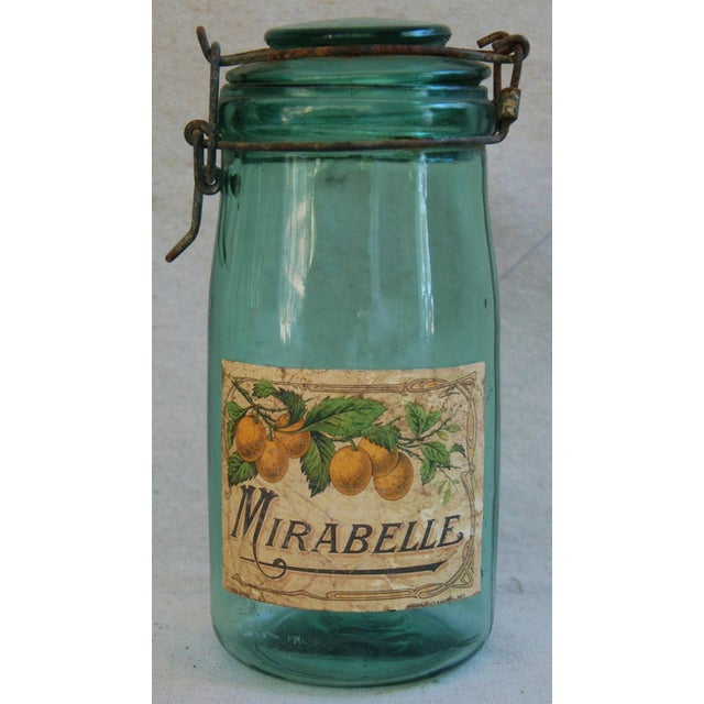 1930s French Labeled Canning Jars - Set of 3 - Image 6 of 6