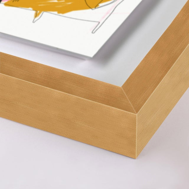 Paper Milanese Summer Gallery Wall, Set of 3 For Sale - Image 7 of 10