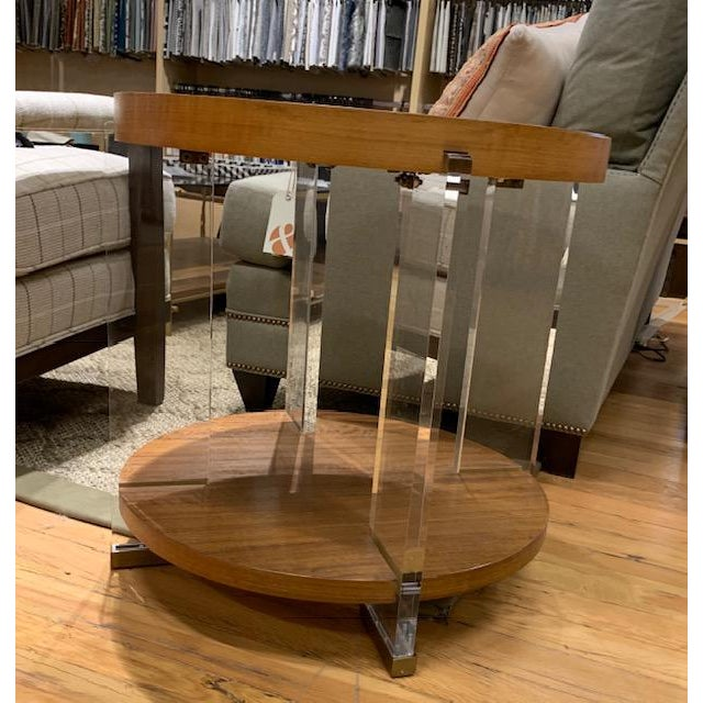 Dell Rey Side Table From Vanguard Furniture Showroom Sample Chairish