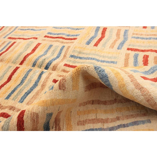 Hand-Knotted Rug- 6′6″ × 9′10″ For Sale - Image 4 of 5