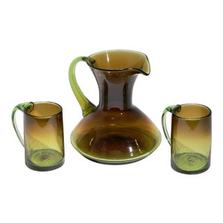 Russel Wright Glassware Prototypes, S/3 For Sale