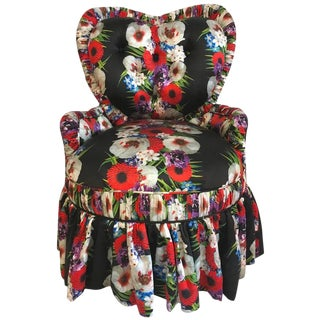 Dolce & Gabbana Victorian Heart Chair For Sale
