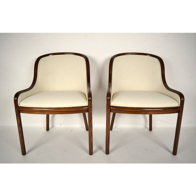 Ward Bennett Hall Chairs - Pair - Image 2 of 7