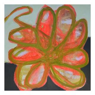 """Brenda Zappitell """"Flower I"""", Painting For Sale"""