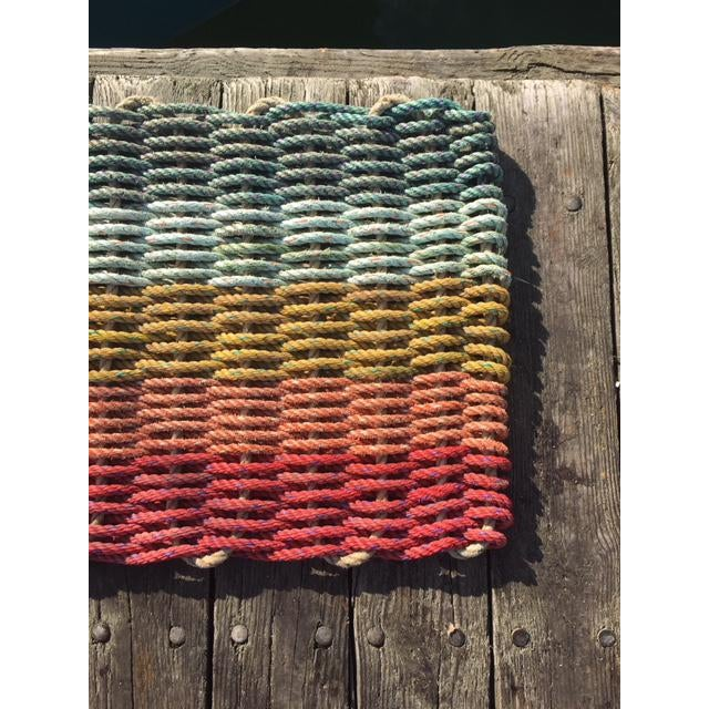 Recycled Lobster Rope Doormat - 1′7″ × 2′10″ - Image 2 of 4