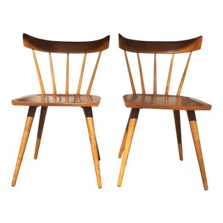 1950s Mid-Century Modern Paul McCobb Planner Group Winchendon Side Chairs - a Pair For Sale
