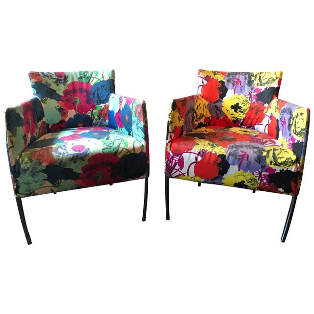 Pair of Chairs From the Versace Showroom, 1990s For Sale - Image 9 of 9