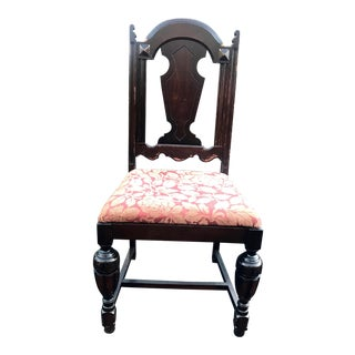 Early 20th Century Vintage Edwardian Dining Chair For Sale
