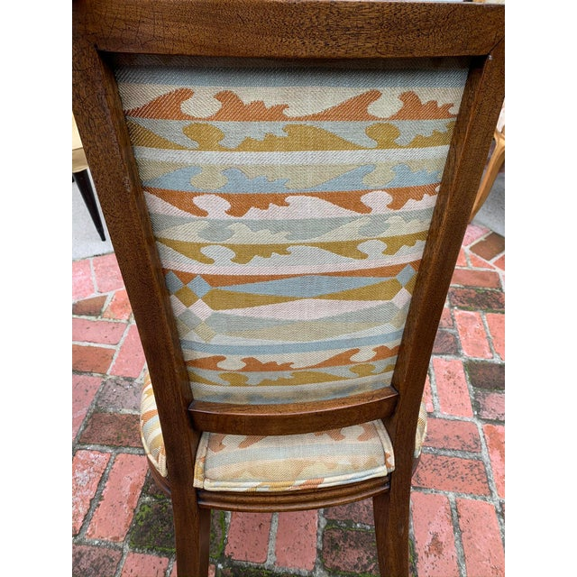 Classic Vintage Louis Dining Chairs - Set of 8 For Sale - Image 10 of 11