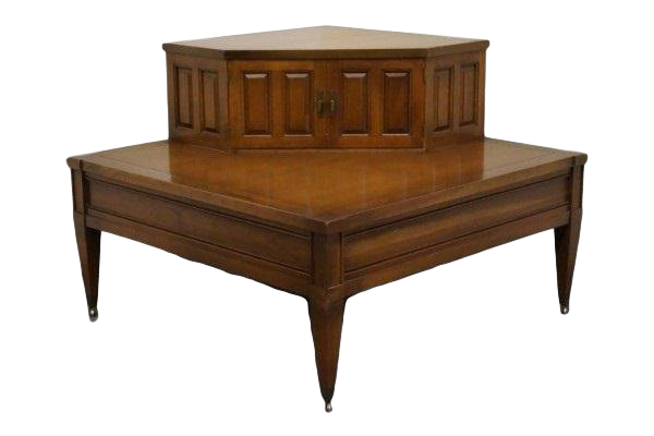 Vintage Used Cherry Wood Side Tables Chairish