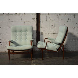 Pair of Bruno Mathsson for Dux Ingrid Arm or Lounge Chairs Preview