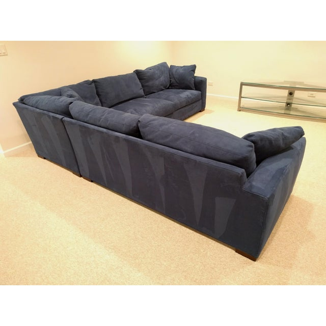 Contemporary Room and Board Metro Sectional For Sale - Image 3 of 5
