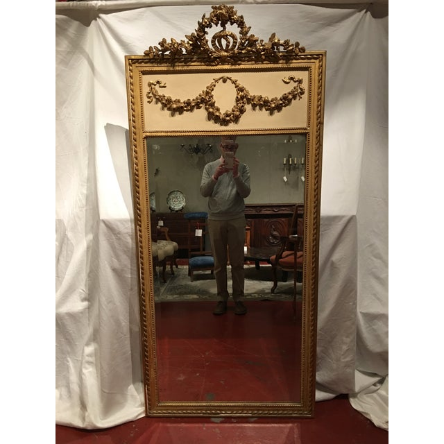 Louis XVI Style Mirror For Sale - Image 9 of 9
