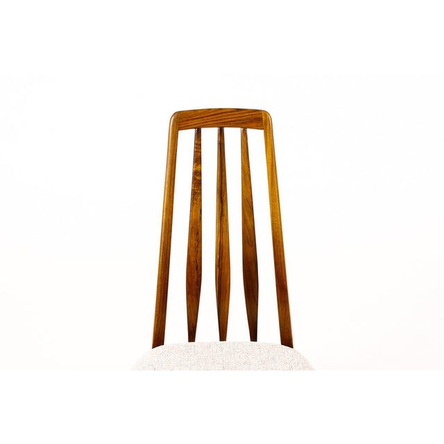 "1960s Danish Modern / Mid-Century ""Eva"" Dining Chairs — Niels Koefoed — Rosewood Frames — Set of 4 For Sale - Image 5 of 11"