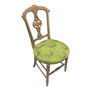 Early 19th Century Antique Gustavian Side Chair For Sale