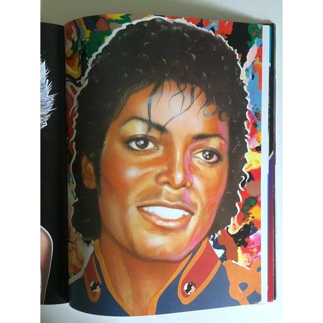 "Richard Bernstein 1984 Rare 1st Edition ""Megastar"" Pop Art Oversized Collector's Book For Sale - Image 9 of 11"