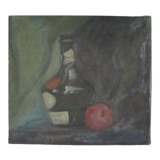 1920s Still Life Oil Painting For Sale