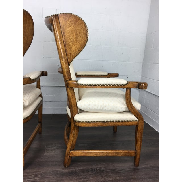 Minton-Spidell English Barber Chairs - a Pair - Image 5 of 10
