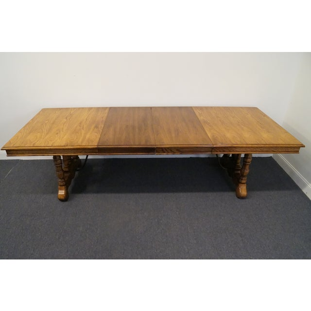 Late 20th Century 20th Century Spanish Revival Thomasville Segovia Dining Table For Sale - Image 5 of 11