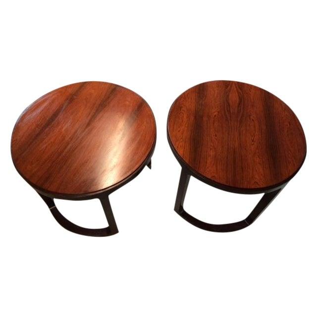Edward Wormley Dunbar End Tables - Pair - Image 1 of 7