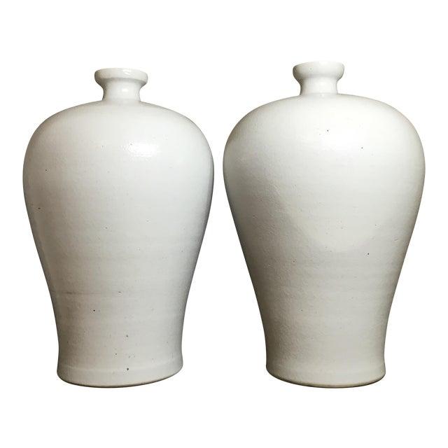 Chinese Ceramic Vases A Pair Chairish