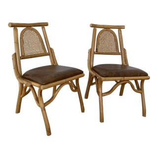 """""""Marni"""" Style Club Chairs - a Pair For Sale"""
