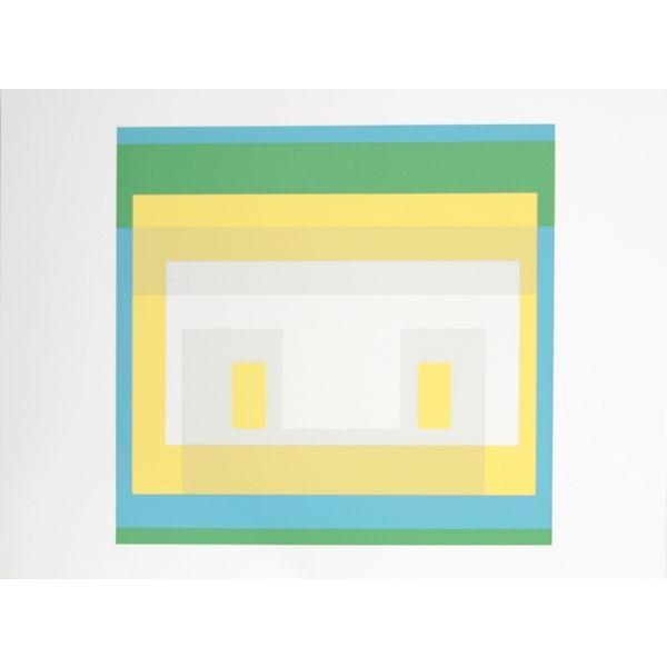 "Josef Albers ""Portfolio 1, Folder 28, Image 1"" Print - Image 2 of 3"