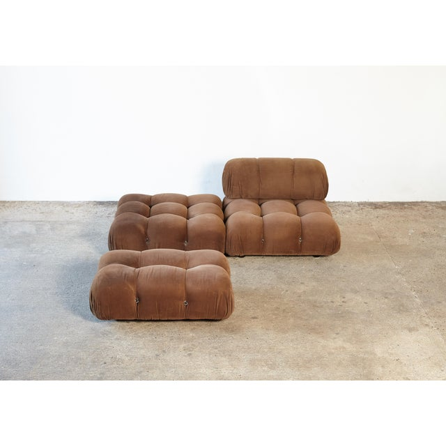 "1970s Vintage Mario Bellini for B&b Italia ""Camaleonda"" Modular Sofa For Sale - Image 6 of 10"