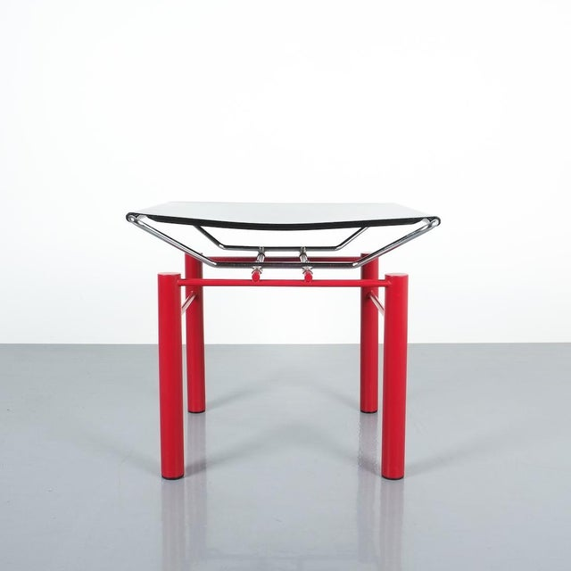 Hans Ullrich Bitsch Side Table Series 8600, Circa 1980 For Sale - Image 6 of 6