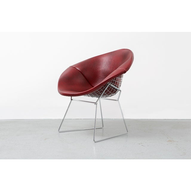 Harry Bertoia Diamond Bertoia Chair For Sale - Image 4 of 11