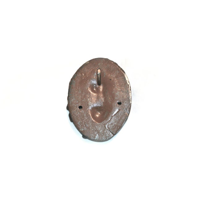 French Country Flower Basket Door Knocker For Sale - Image 3 of 8