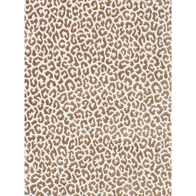 Transitional Scalamandre Panthera Velvet, Sable Fabric For Sale - Image 3 of 3