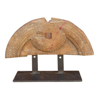 Bastar Indian Tribal Art on Stand For Sale