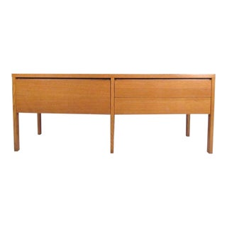 Oak Office Credenza by Directional