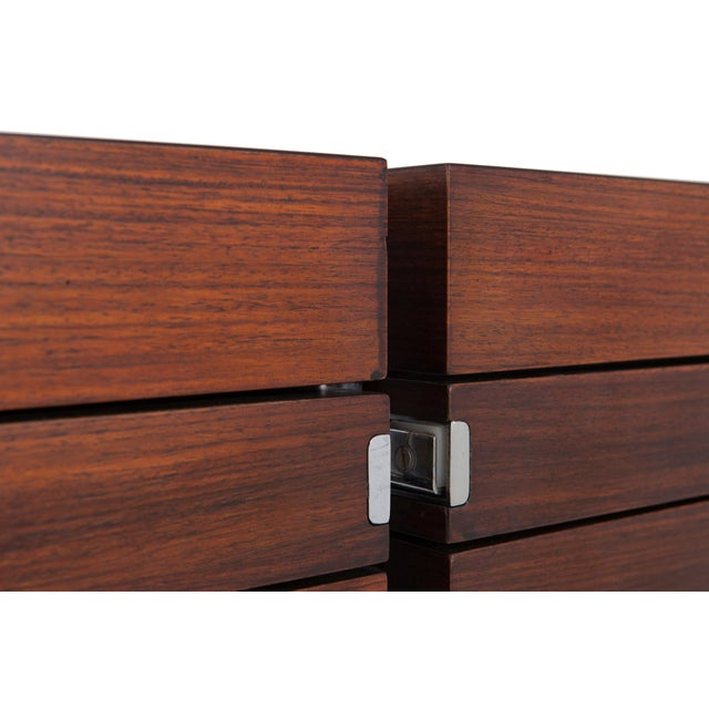 Mahogany Jules Wabbes Mahogany Double Chest of Drawers for Mobilier Universel For Sale - Image 7 of 10