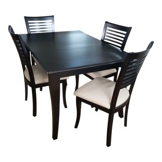 Bermex Dining Set Floor Sample Self Storing Table For Sale