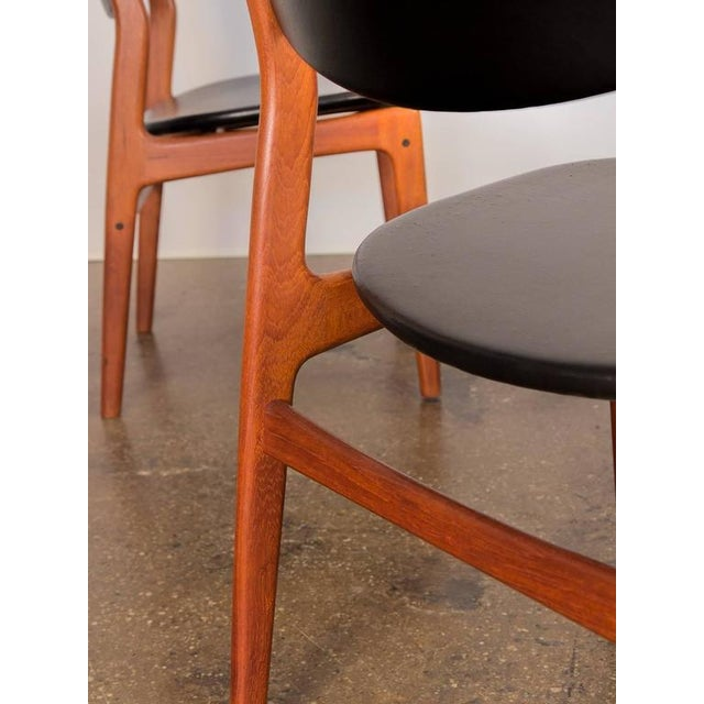 Four Scandinavian Teak Dining Chairs - Image 5 of 7